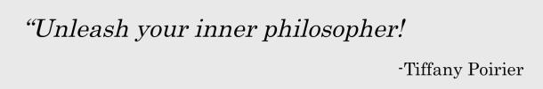 Unleash your inner philosopher